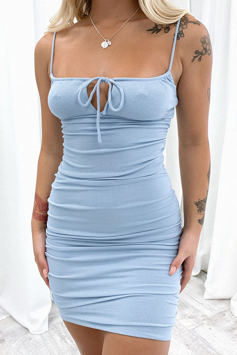 Carter Dress - Blue