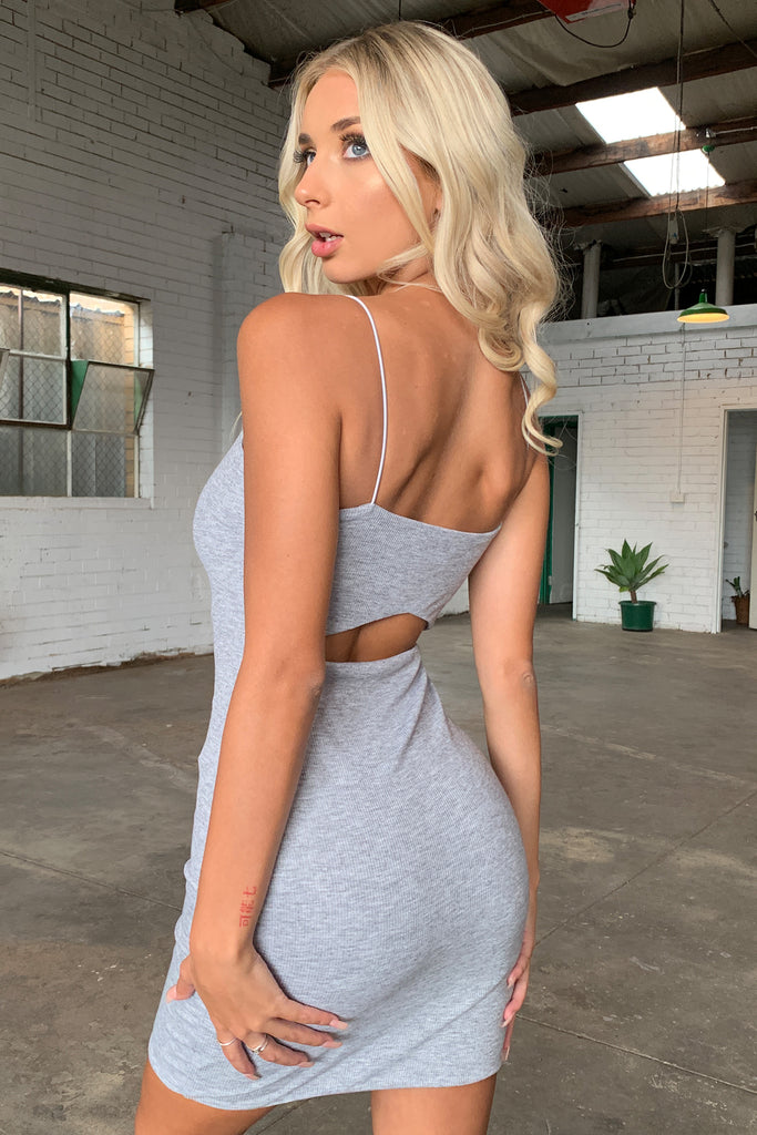 Everest Dress - Grey