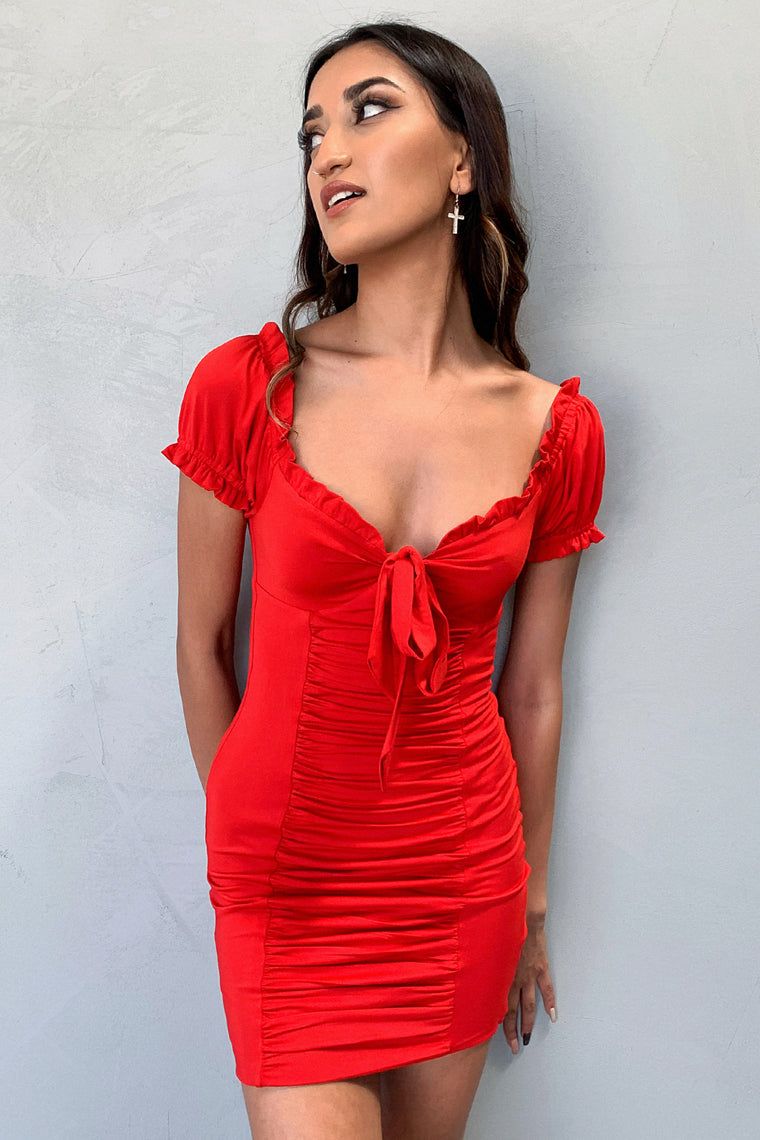 Dolly Dress - Red