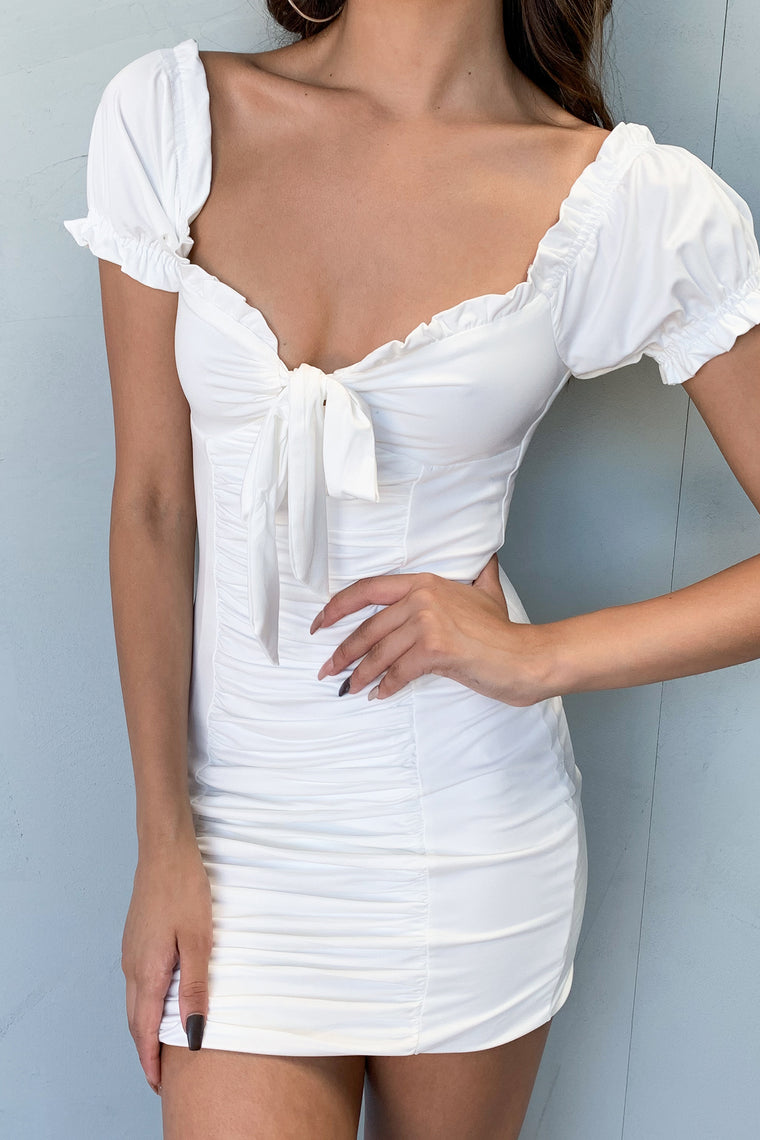 Dolly Dress - White