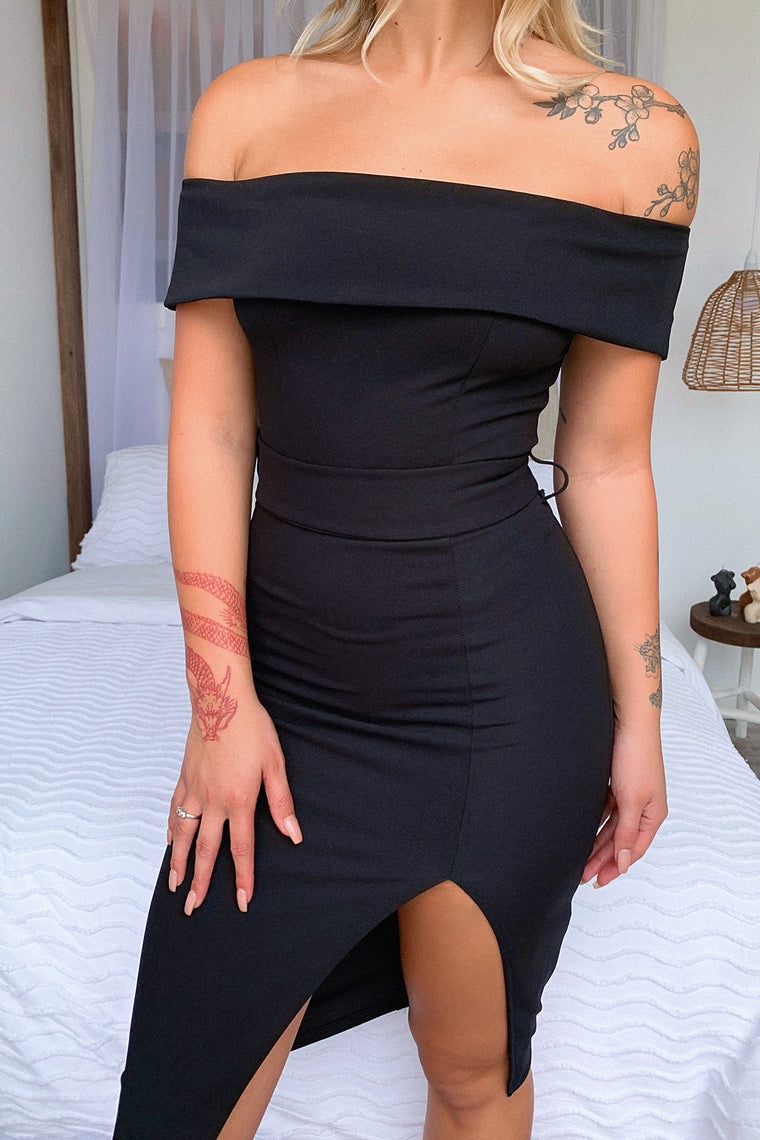 Jaqlin Dress - Black
