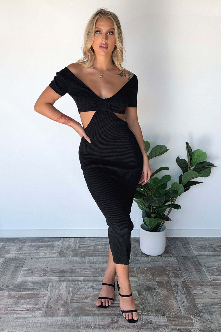 Jenner Maxi Dress - Black