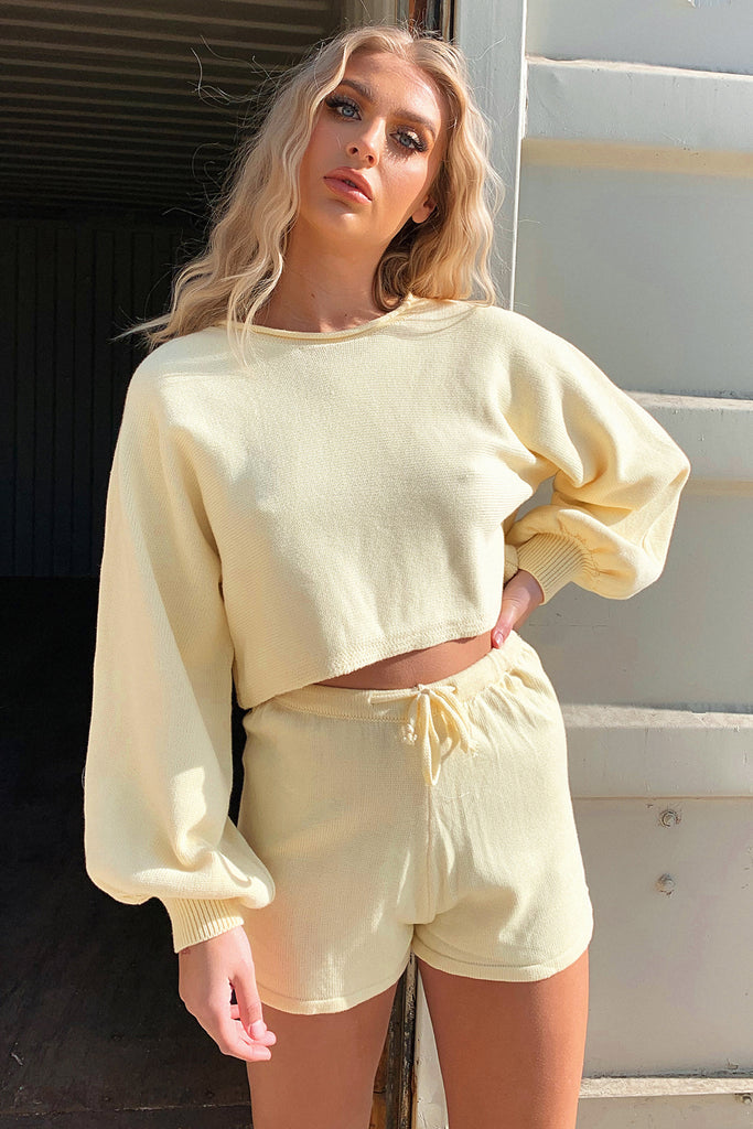 Kennedy Jumper - Yellow