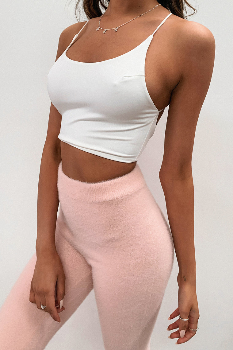 Knoxlee Crop Top - White