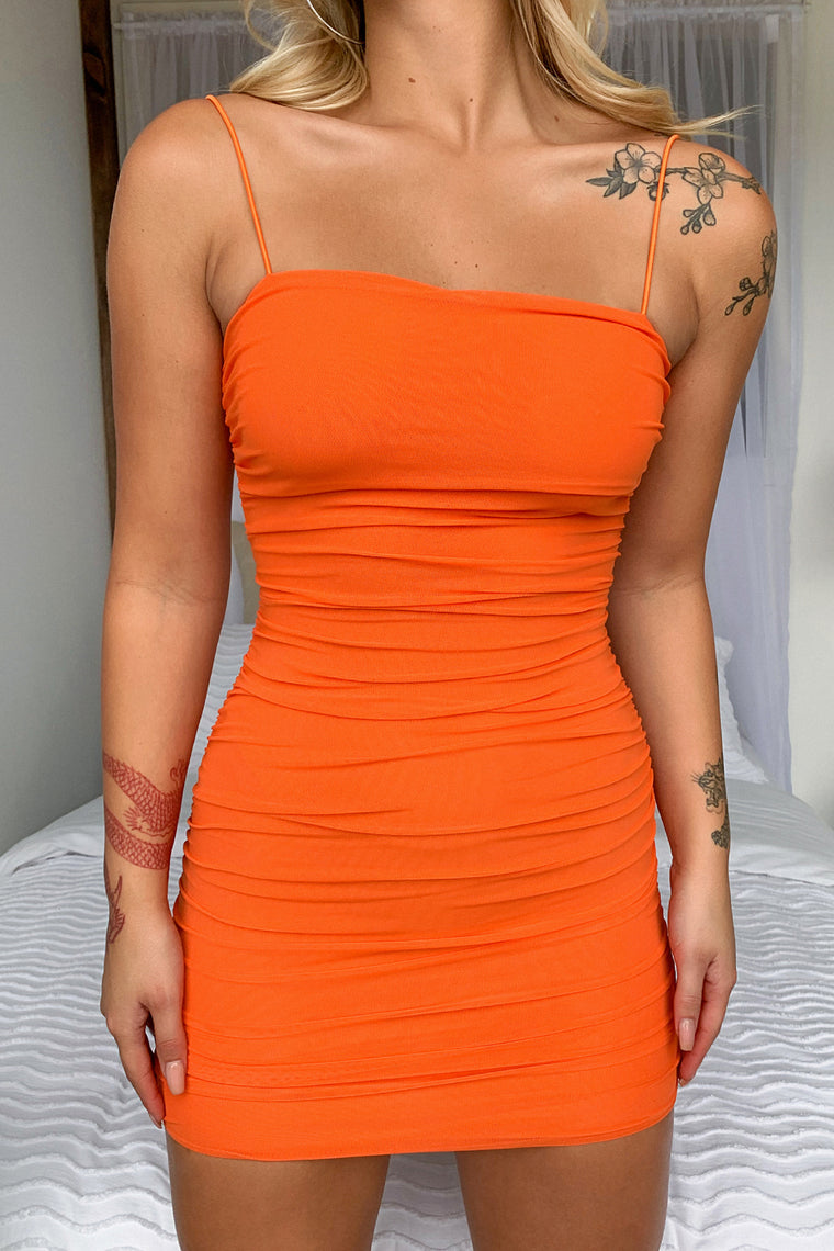 Landon Dress - Orange