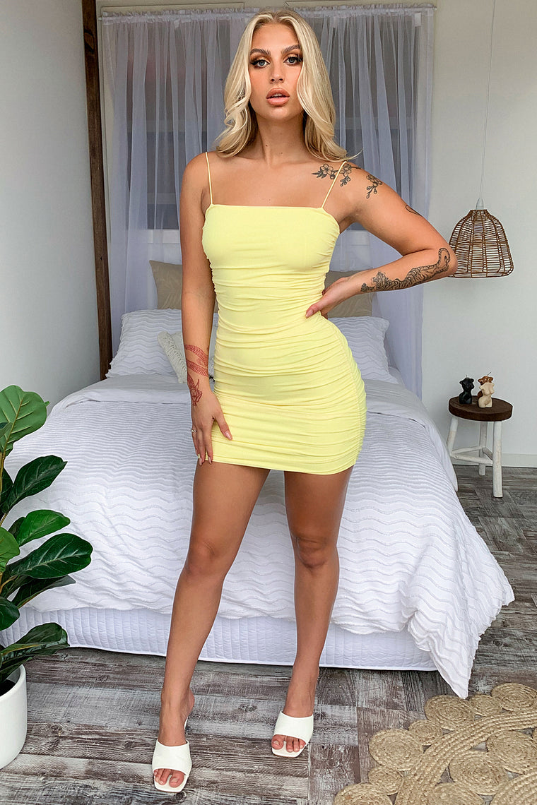 Landon Dress - Yellow