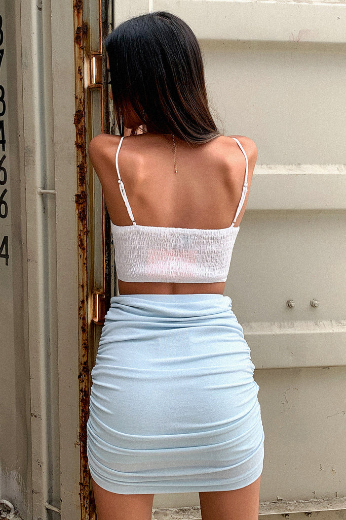 Lisa Crop - White
