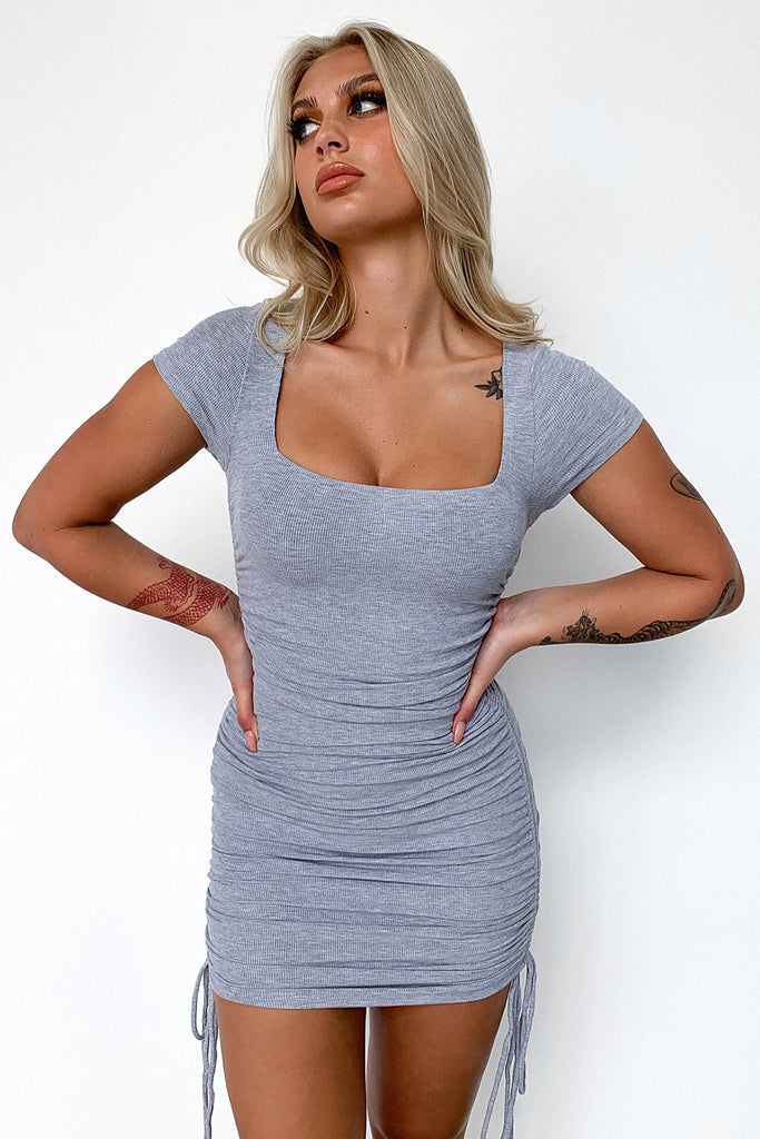 Lorita Dress - Grey