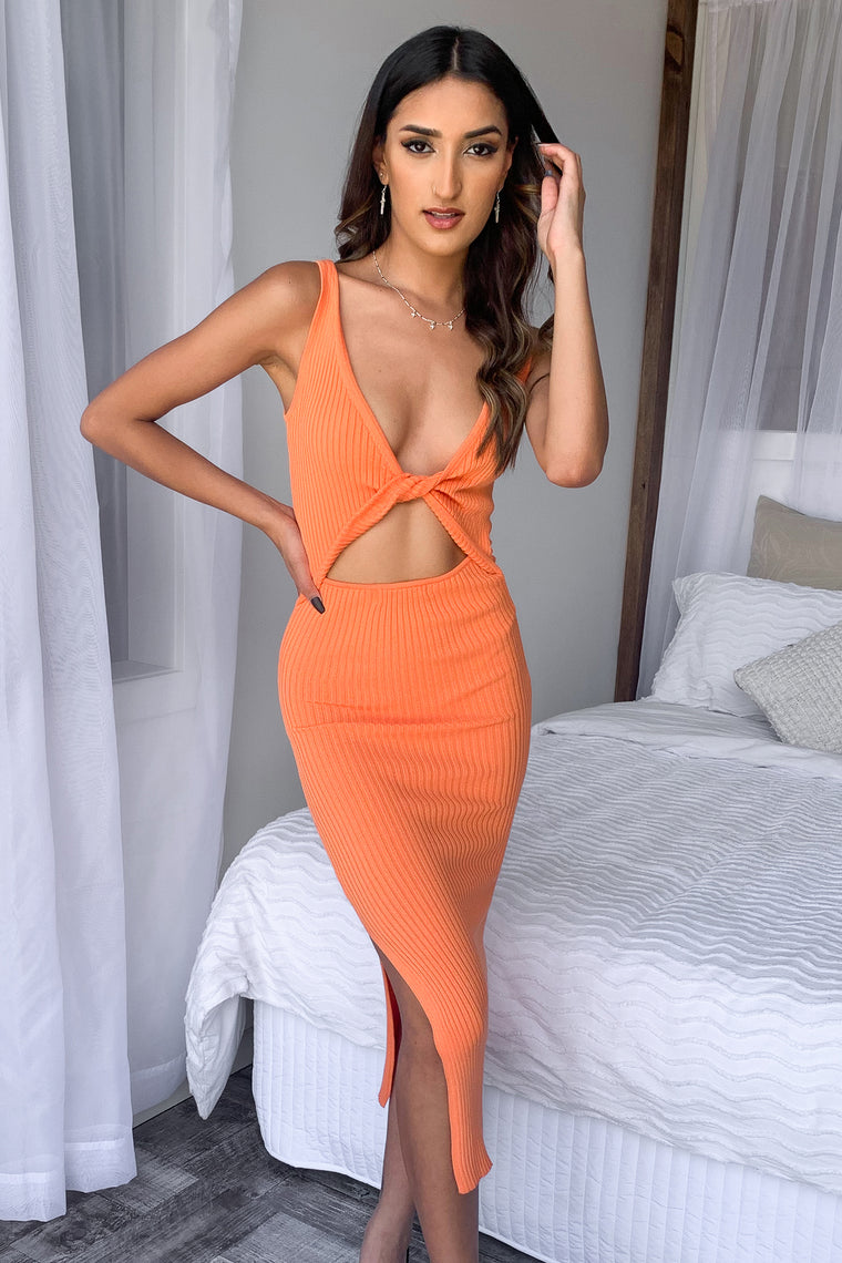 Lucifer Dress - Orange
