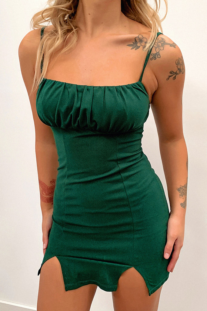 Simar Dress - Emerald