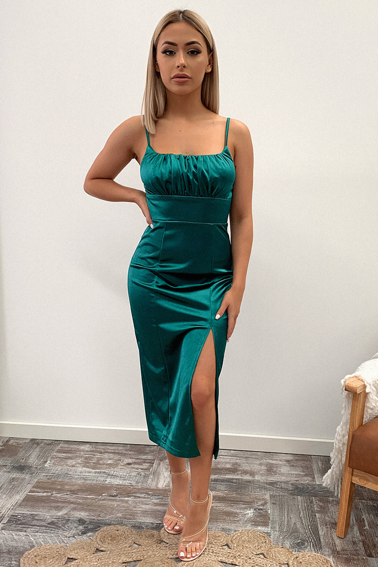 Francise Dress - Emerald