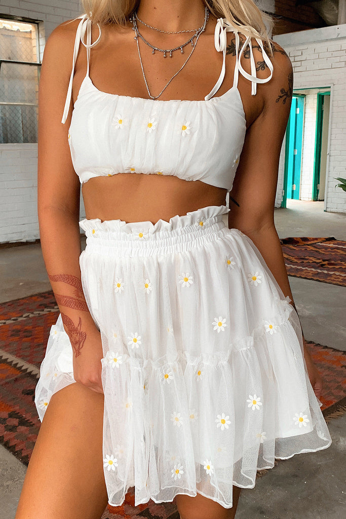 Sunshine Skirt - White