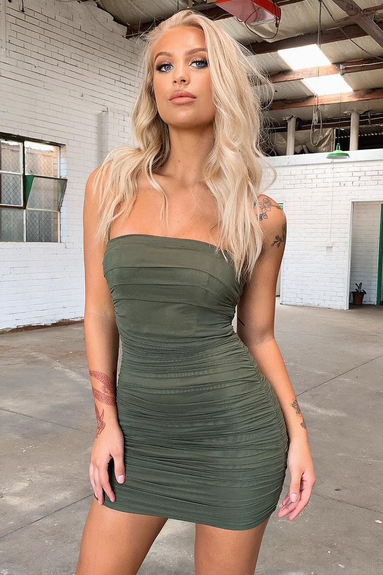 Mollex Dress - Khaki