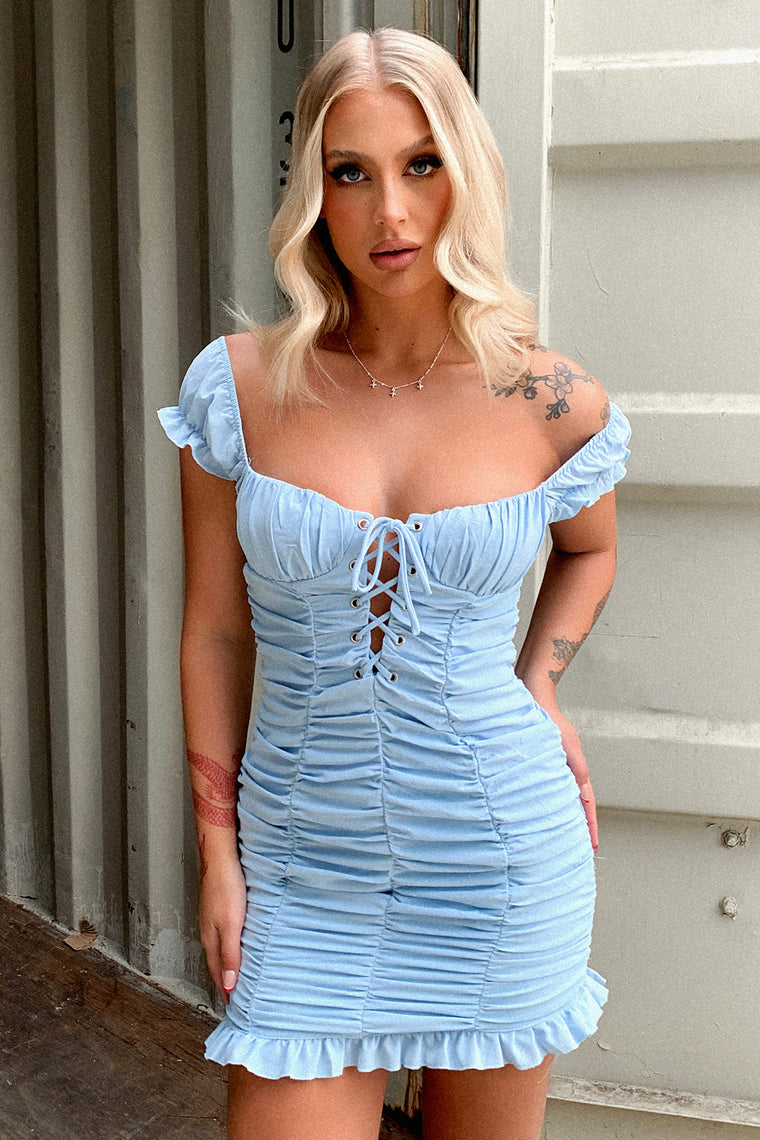 Margi Dress - Blue