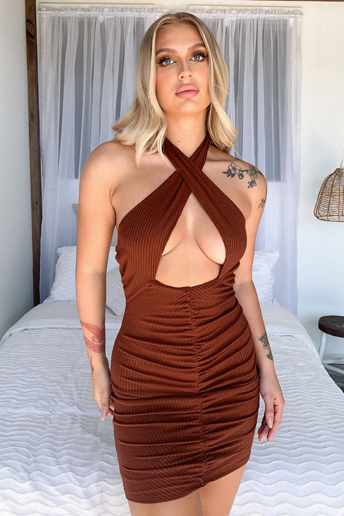 Montana Dress - Brown