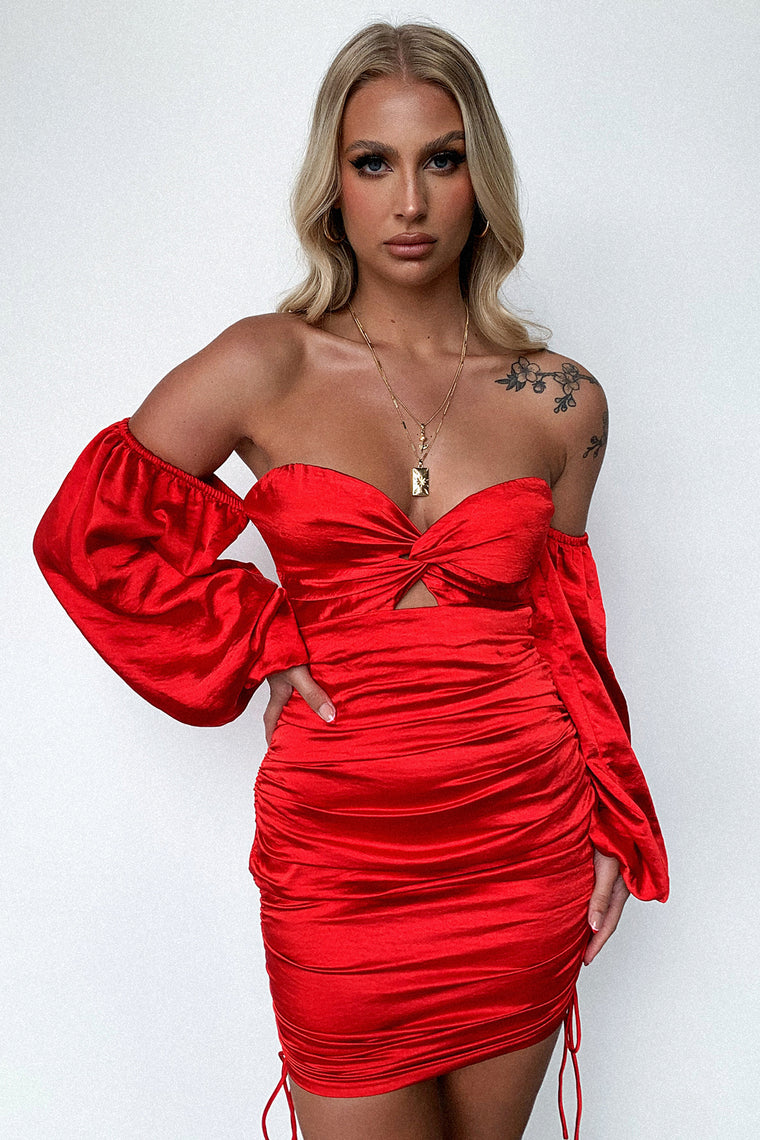 Porche Dress - Red