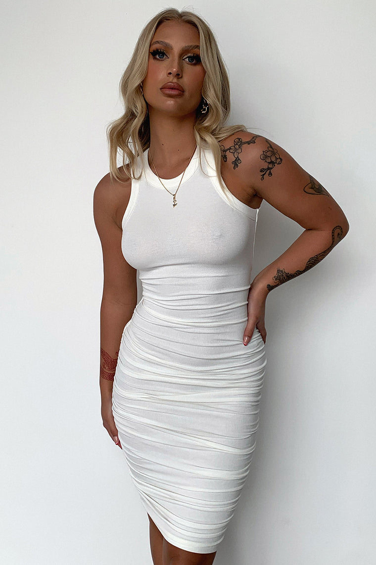 Rhianna Dress - White