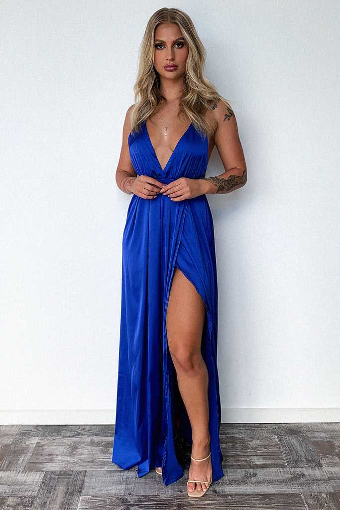 Scarlett dress - Royal Blue