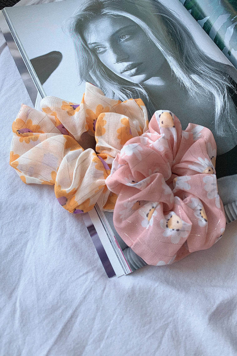 Scrunchies Pack - Floral