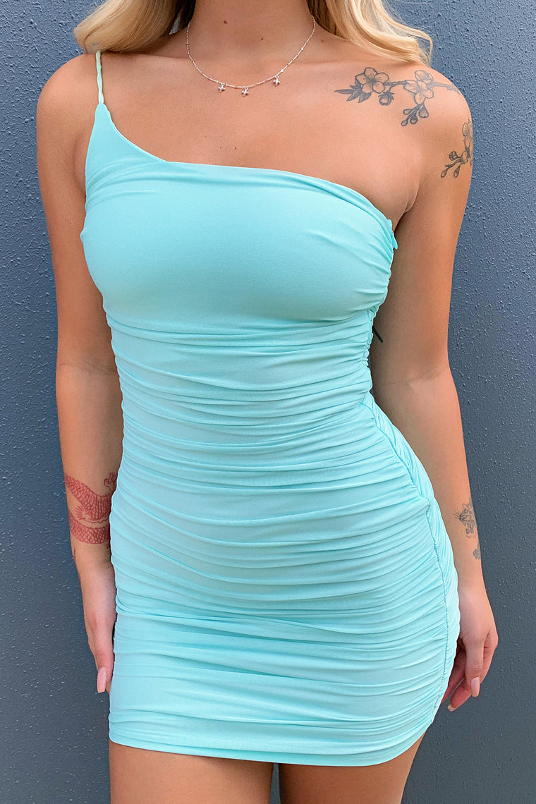 Shay Dress - Teal