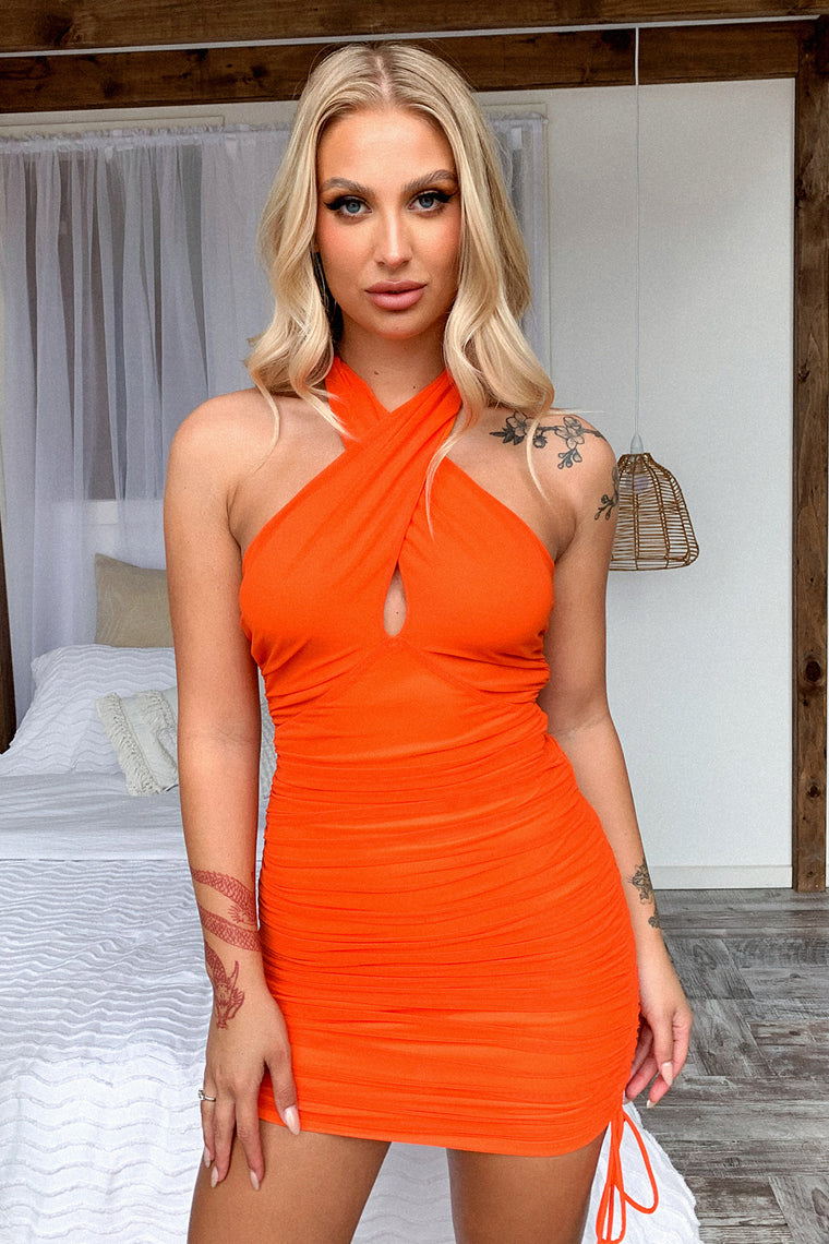 Surya Dress - Orange