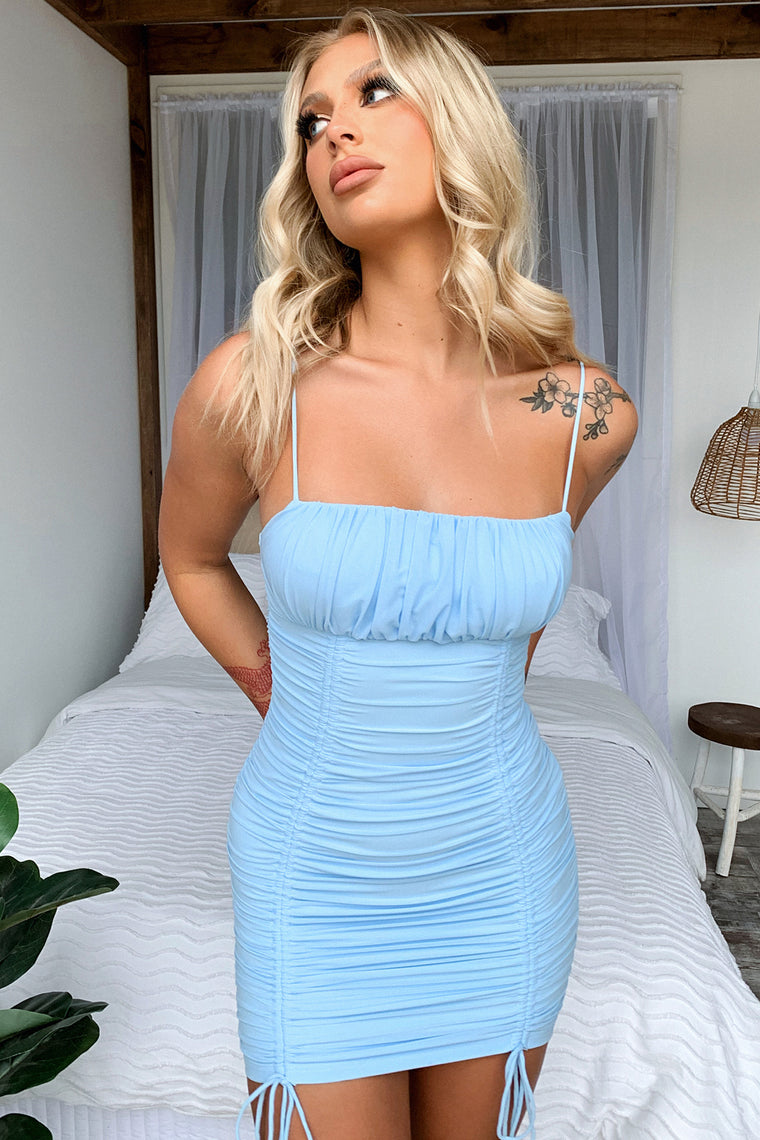 Tia Dress - Blue