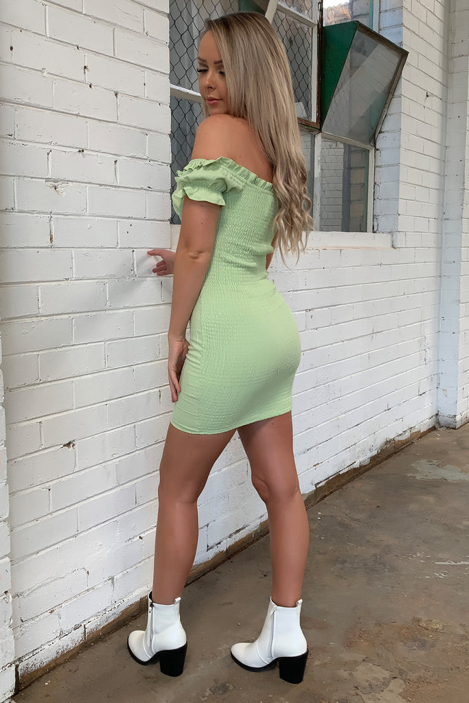 Maisie Dress - Light Green