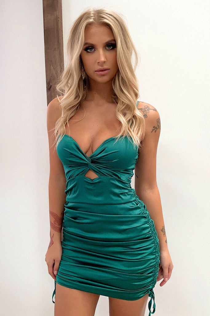 Ballerina Dress - Emerald
