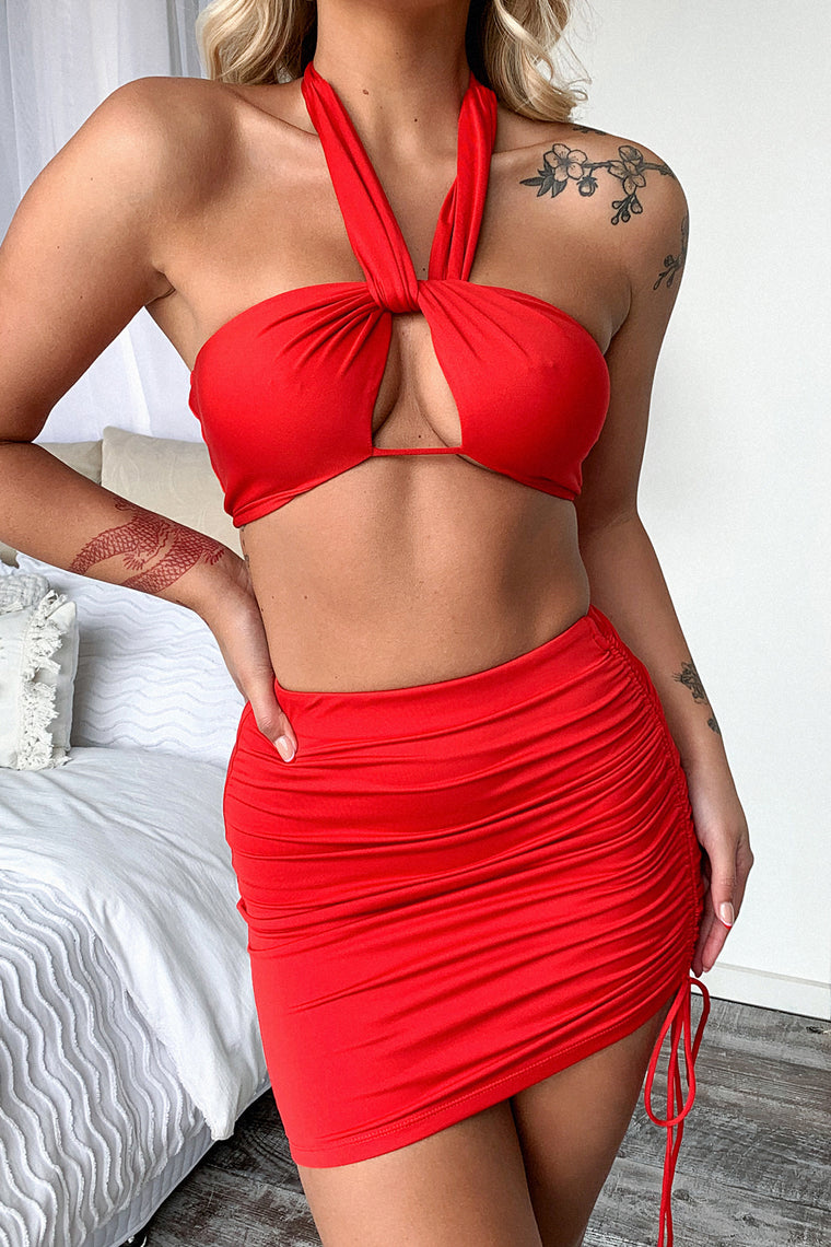 Xavier Skirt - Red