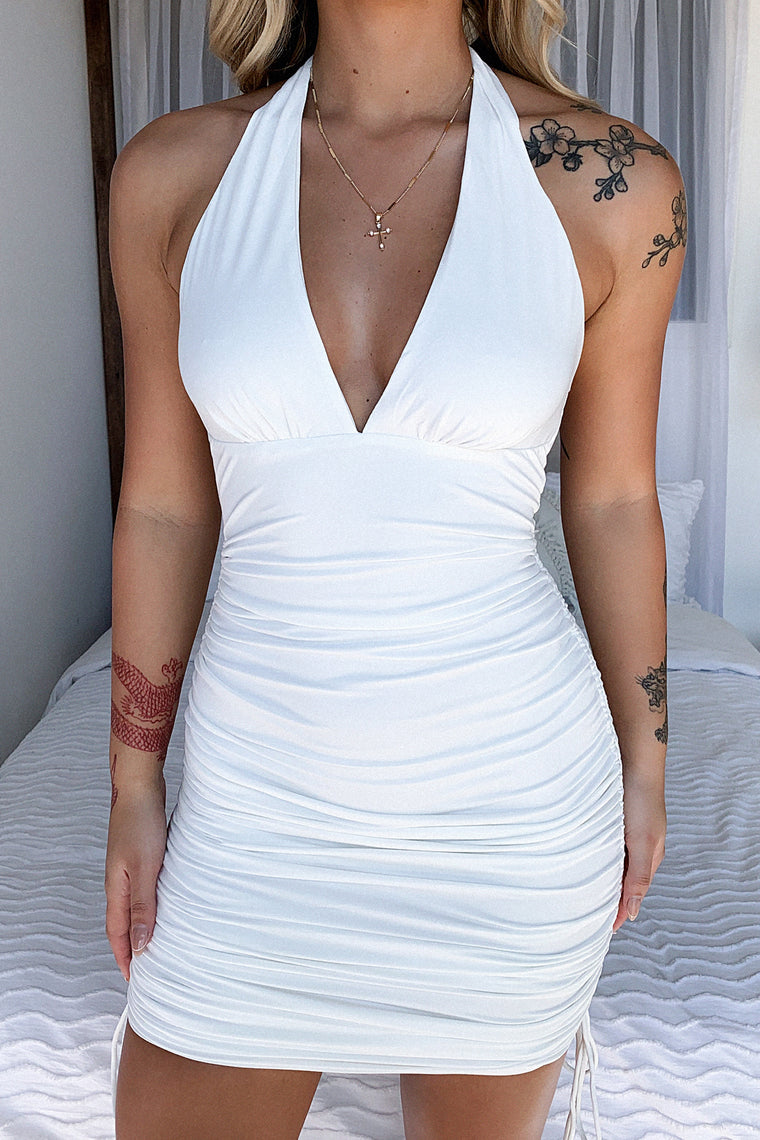 Zion Dress - White