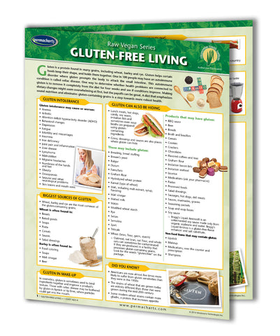 Gluten Free Living Quick Reference Guide
