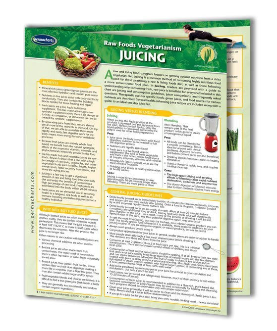 Raw juicing guide