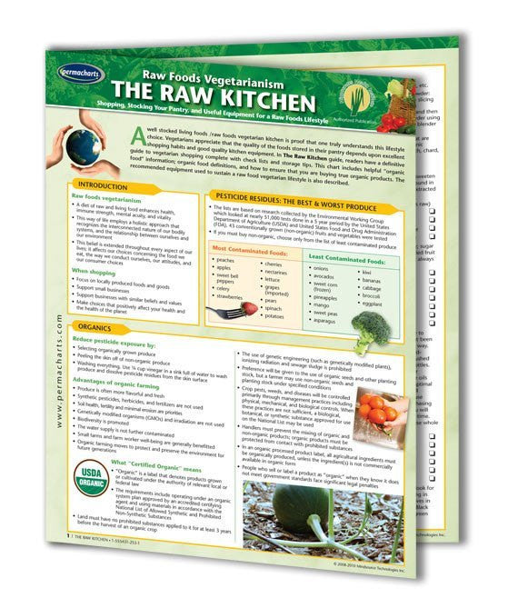 set up a raw kitchen guide