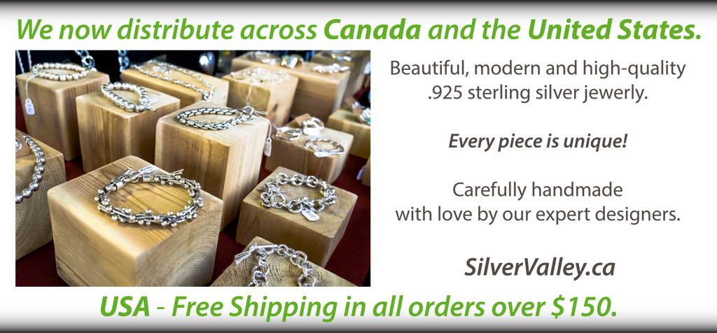 buy .925 sterling silver jewelry Toronto Ontario Canada