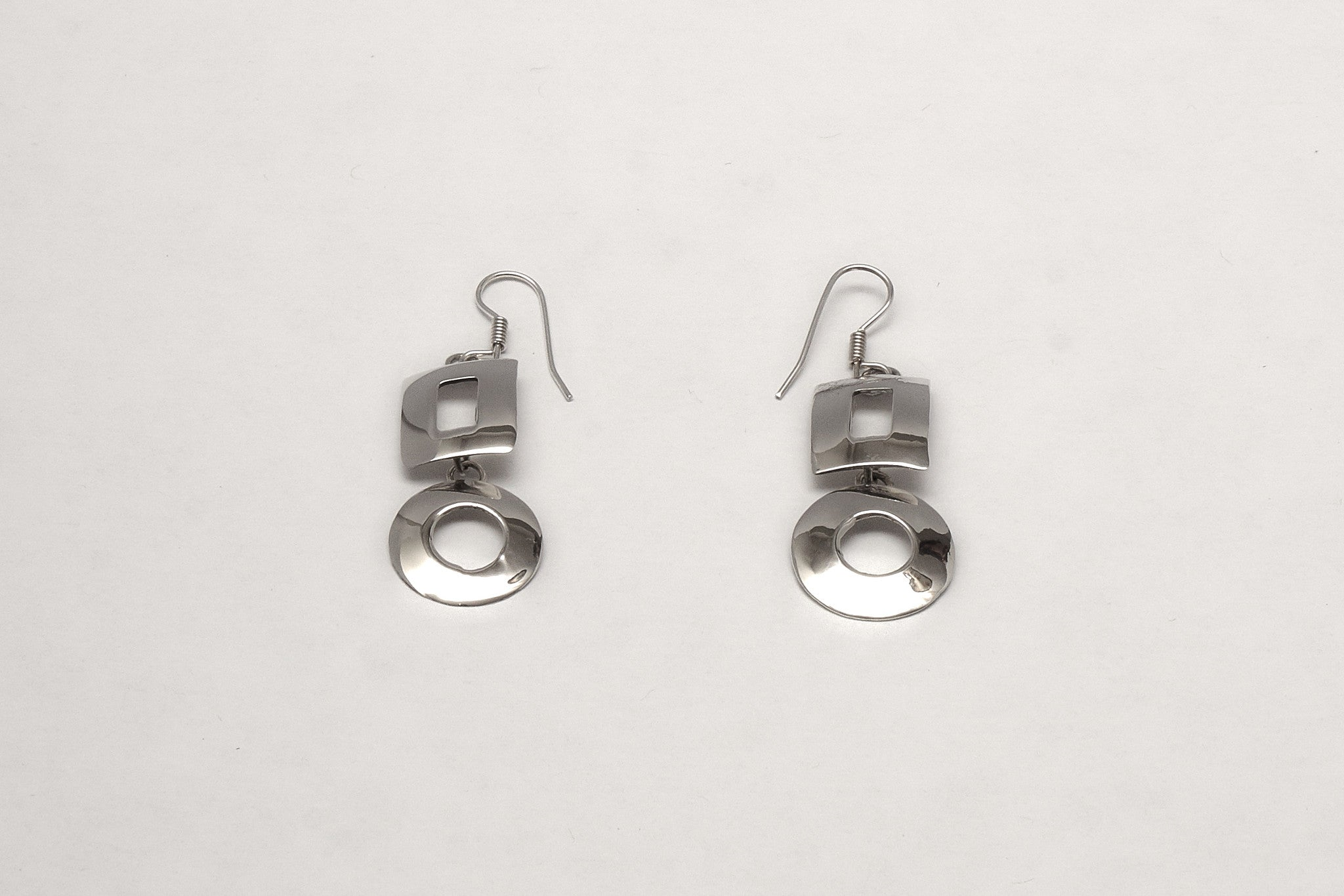 Silver jewelry, earrings, Toronto, Canada
