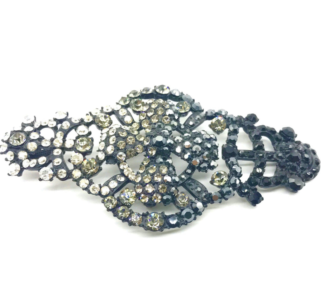 Christian Lacroix Crystal and Black pin