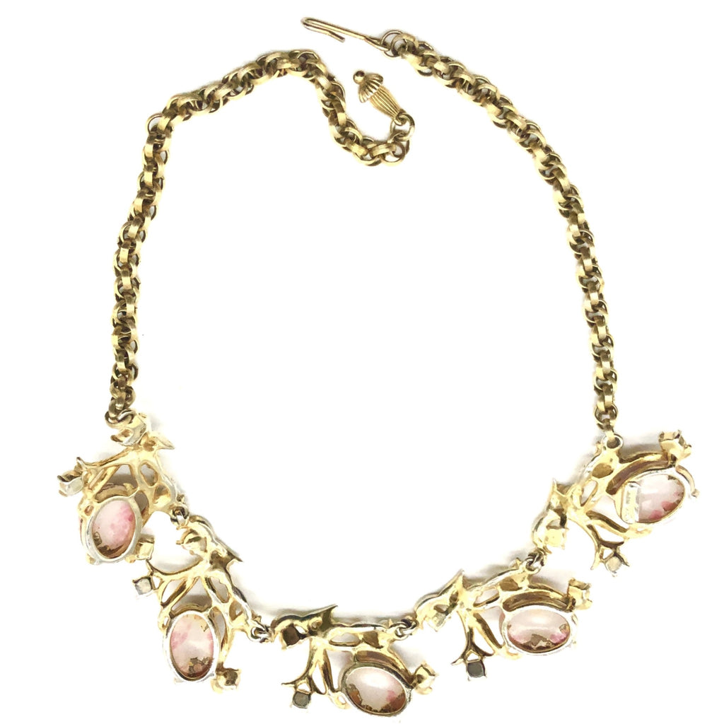Schiaparelli Art Glass Necklace