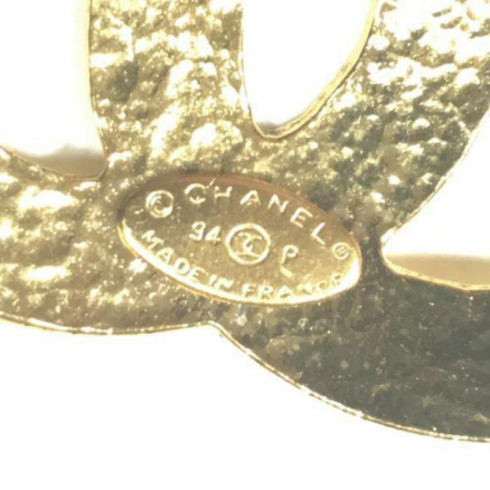 Vintage Chanel necklace with Large CC logo Pendant