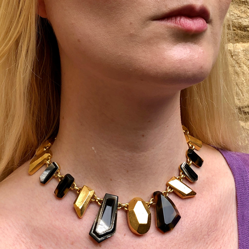 Lacroix stone necklace