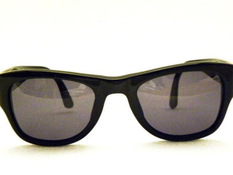 vintage chanel black wayfarer sunglasses