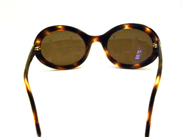 vintage chanel tortoise sunglasses inside