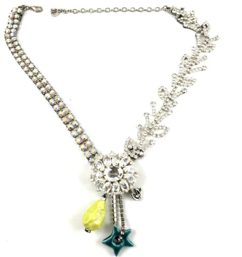 Christian Lacroix Crystal Necklace
