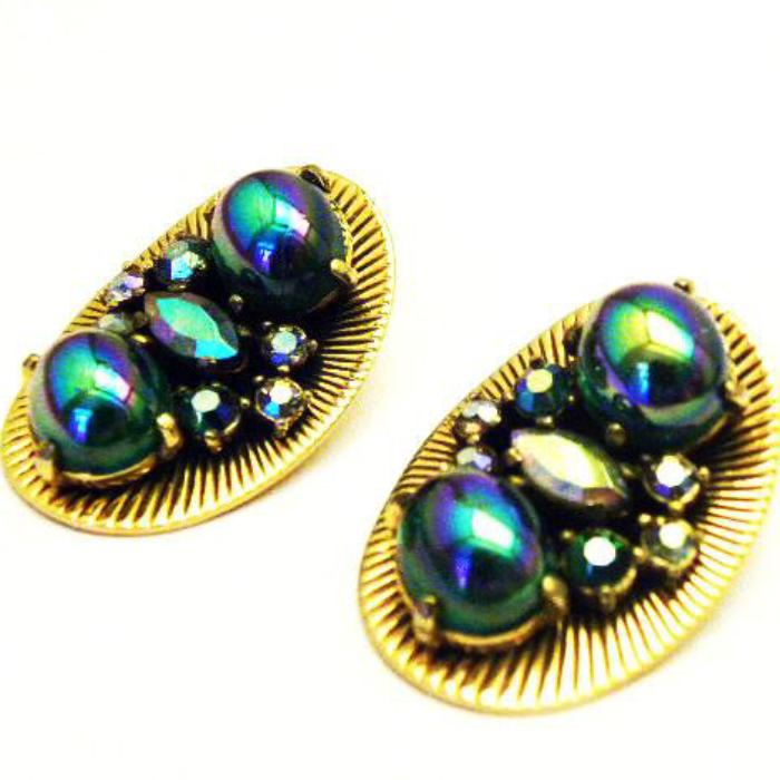 schiaparelli bookpiece earrings