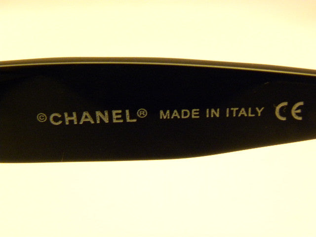 Chanel Sunglasses with Blue and Black Frames