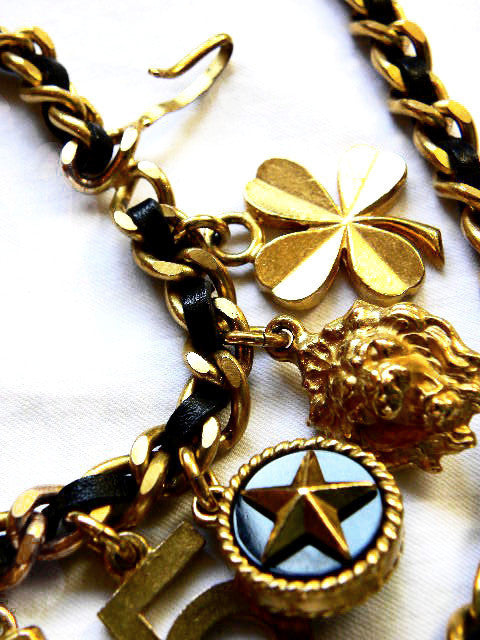 Vintage Chanel Multi Charm Necklace/Belt