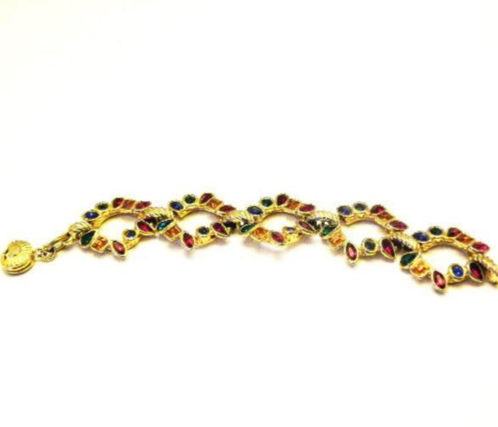 Yves Saint Laurent Gripoix Links Bracelet