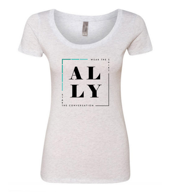 ALLY (Addiction) Scooped Tee