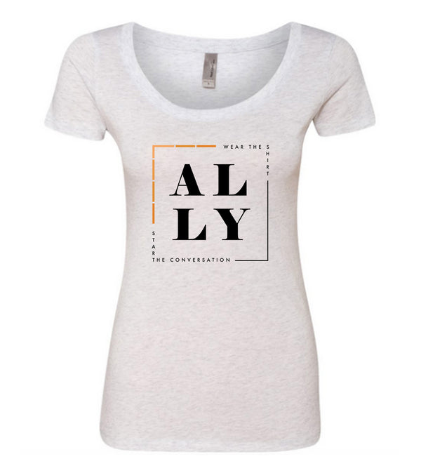 ALLY (Equality) Scooped Tee