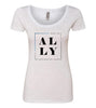 ALLY (Foster Care) Scooped Tee
