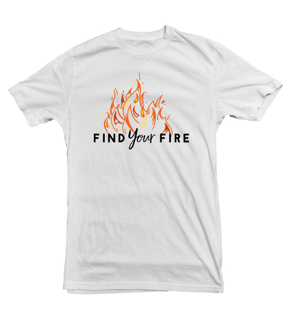 Find Your Fire TeeTees|Wearable Therapy|Tokii|Fashion|Women's Clothing|Men's Clothing|Stand Up|Speak Up|Mental Health|Awearness|Stop the Stigma